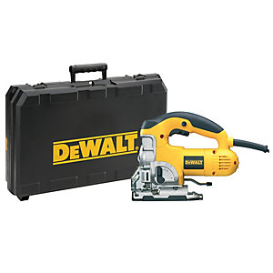 DEWALT DW331K-GB Heavy Duty Corded Jigsaw 240V - 701W
