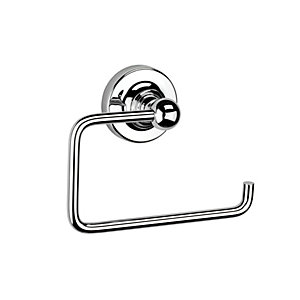Croydex Worcester Flexi-Fix Chrome Toilet Roll Holder