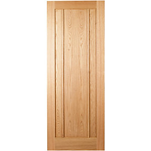 Wickes York Oak 3 Panel Internal Door - 1981mm