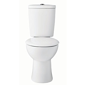 Wickes Portland Toilet Pan Close Coupled Cistern & Seat