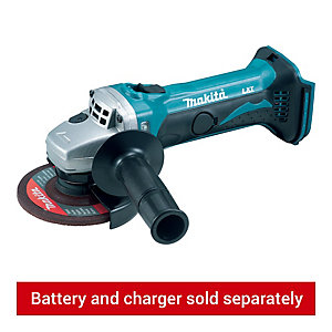 Makita DGA452Z 18V 115mm (4in) Angle Grinder - Bare
