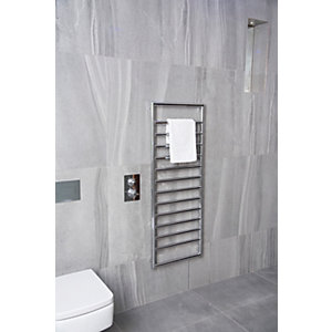 Towelrads Strand Chrome Towel Radiator - 900 x 500mm