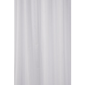Croydex Textile Shower Curtain - White