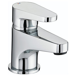 Bristan Quest Basin Chrome Mixer Tap With Clicker Waste