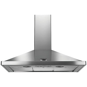 Rangemaster 100cm Chimney Hood Stainless Steel
