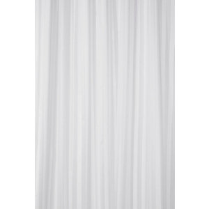 Croydex Shower Curtain - Stripe White