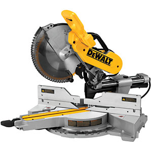 DEWALT DWS780-LX 305mm Compound Sliding Mitre Saw 110V - 960W