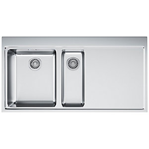 Franke Mythos 1.5 Bowl RHD Stainless Steel Kitchen Sink