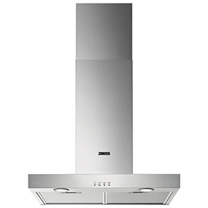 Zanussi 60cm Chimney Hood Stainless Steel ZHB62670XA