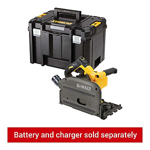 DEWALT DCS520NT-XJ 54V XR FLEXVOLT Cordless Plunge Saw In Tstak Case - Bare