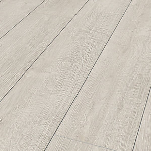 Wickes Albero White Oak Laminate Flooring - 1.48m2 Pack