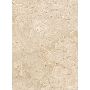 Wickes Amalfi Mocca Beige Ceramic Tile 360 x 275mm Sample