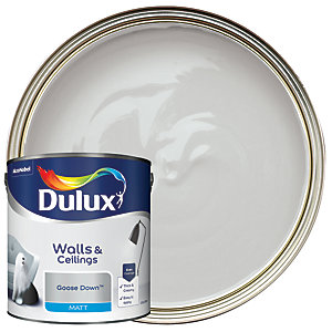 Dulux - Goose Down - Matt Emulsion Paint 2.5L