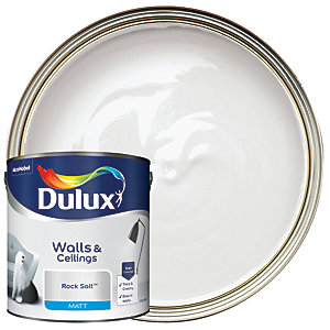 Dulux - Rock Salt - Matt Emulsion Paint 2.5L