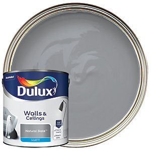Dulux - Natural Slate - Matt Emulsion Paint 2.5L