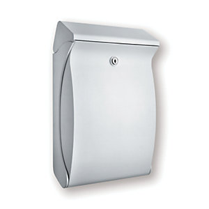 BURG-WACHTER Swing Post Box - White