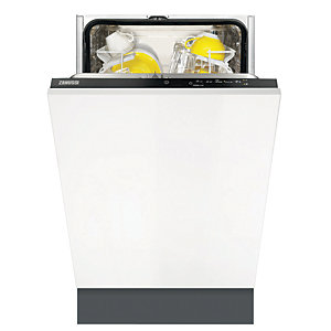 Image of Zanussi 45cm Integrated Slimline Dishwasher ZDV12004FA