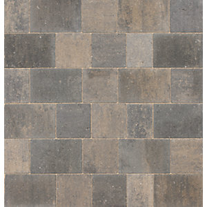 Marshalls Drivesett Savanna Textured Pennant Grey Driveway Block Paving 160 x 160 x 50mm - Pack of 420