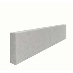 Marshalls Fairstone Sawn Versuro Smooth Edging Stone - Antique Silver 900 x 150 x 50mm Pack of 20