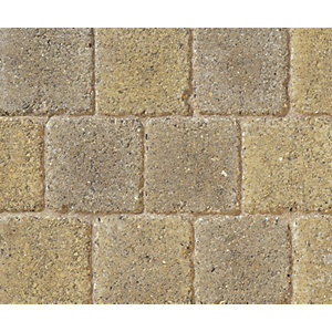 Marshalls Drivesett Deco Textured Driveway Block Paving Pack Mixed Size - Cotswold 10.367 m2