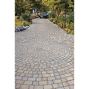 Marshalls Drivesett Tegula Textured Driveway Circle Paving Kit - Traditional 5.31 m2