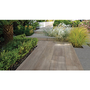 Marshalls Symphony Smooth Birch 295 x 1192 x 20mm Porcelain Paving Slab - Pack of 48