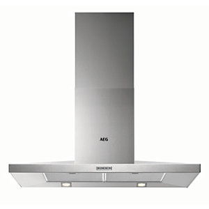 AEG 90cm Chimney Stainless Steel Cooker Hood DKB4950M
