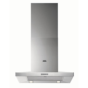AEG 60cm Chimney Stainless Steel Cooker Hood DKB4650M