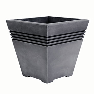 Sankey Milano Pewter Plant Pot Small -330mm