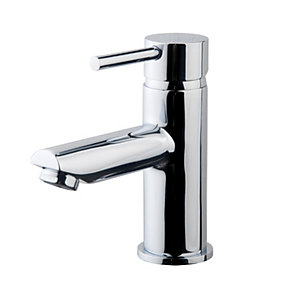 Wickes Mirang Chrome Lever Basin Mixer Tap