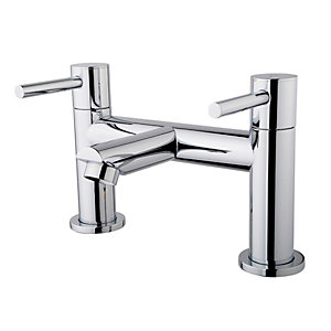 Wickes Mirang Chrome Bath Filler Tap