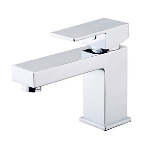 Wickes Kubic Chrome Basin Mixer Tap