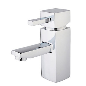 Wickes Yaran Chrome Basin Mixer Tap