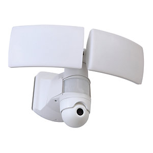 LUTEC LIBRA LED Security Floodlight with Wireless CCTV