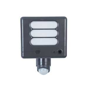 LUTEC ESA LED Floodlight with Wireless CCTV