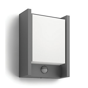Philips Arbour LED Wall Lantern with PIR - 6W