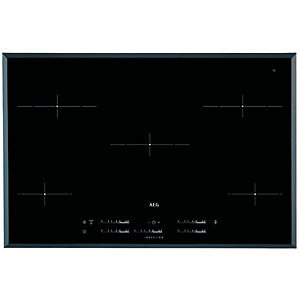 AEG 80cm 5 Zone Induction Hob IKE85431FB