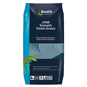 Bostik Smooth Finish Tile Grout J100 3.5kg White