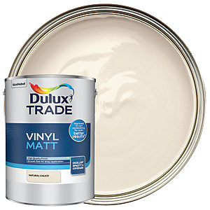 Dulux Trade Vinyl Matt Emulsion Paint - Natural Calico 5L