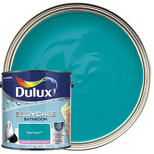 Dulux Easycare Bathroom - Teal Touch - Soft Sheen Emulsion Paint 2.5L