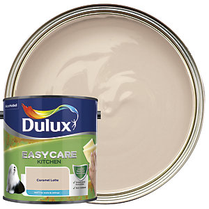 Dulux Easycare Kitchen - Caramel Latte - Matt Emulsion Paint 2.5L