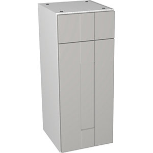 Wickes Vermont Grey On White Drawerline Floorstanding Storage Unit - 300 x 735mm