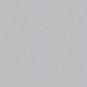Superfresco Easy Calico Grey Fabric Textured Wallpaper - 10m