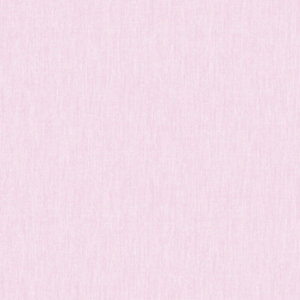 Superfresco Easy Calico Rose Pink Fabric Textured Wallpaper - 10m