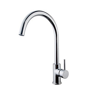 Wickes Fiora Monobloc Kitchen Sink Mixer Tap - Chrome