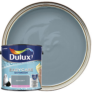 Dulux Easycare Bathroom - Denim Drift - Soft Sheen Emulsion Paint 2.5L