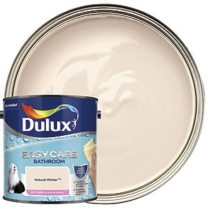 Dulux Easycare Bathroom - Natural Wicker - Soft Sheen Emulsion Paint 2.5L