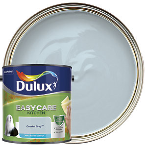 Dulux Easycare Kitchen - Coastal Grey - Matt Emulsion Paint 2.5L