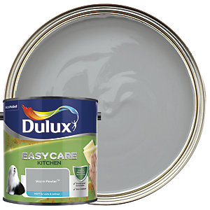 Dulux Easycare Kitchen - Warm Pewter - Matt Emulsion Paint 2.5L