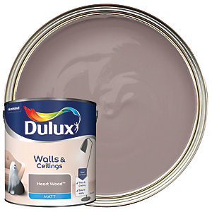 Dulux - Heart Wood - Matt Emulsion Paint 2.5L